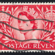 Stock Photo: Stamp by Great Britain