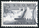Stamp printed by Finland — Stock Photo