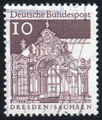 Stamp printed by Germany — Foto de Stock