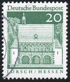 由德国印制的邮票 — 图库照片
