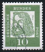 Stempel gedruckt von deutschland — Stockfoto