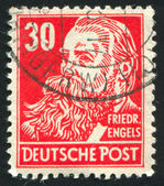 Stamp printed by Germany — Stock Photo