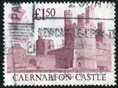 Stempel gedrukt door groot-brittannië — Stockfoto