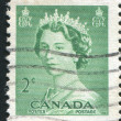 Stamp printed by Canada - ストック写真