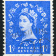 Stamp printed by Great Britain — Lizenzfreies Foto