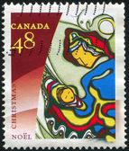 Carimbo imprimido pelo Canadá — Fotografia Stock