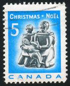 Znaczek wydrukowany przez Kanada — Zdjęcie stockowe