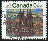 Stempel gedruckt von kanada — Stockfoto