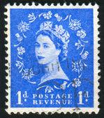 由英国印制的邮票 — 图库照片