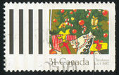 Stamp printed by Canada — 图库照片