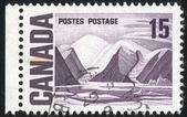 Stamp printed by Canada — Stock fotografie