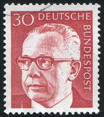 Gustav Heinemann — Stock Photo