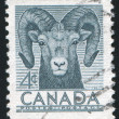 Stamp by Canada - Stock Photo