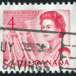 Stamp by Canada — Foto de Stock