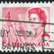 carimbo pelo Canadá — Foto Stock
