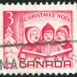 Stock Photo: Stamp by Canada