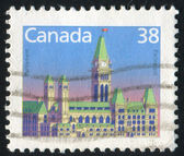 Stamp by Canada — Photo