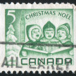 Stamp by Canada — Stock Photo #4725639