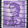 Stamp by Hong Kong — Stock Photo