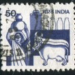 Stamp by India — Lizenzfreies Foto