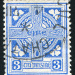 Stock Photo: Stamp by Ireland
