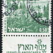 Stamp by Israel - Stock Photo
