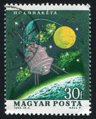 Stamp by Hungary — Stock Photo