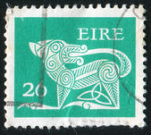 Estampilla por irlanda — Foto de Stock