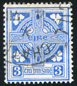 Stamp by Ireland — Stock Photo