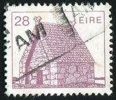 Stamp by Ireland — Stock Photo