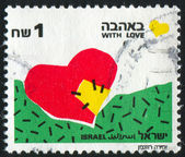 Stamp by Israel — Stock Photo
