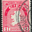 Stamp by Ireland — Foto de Stock