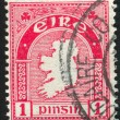 Stamp by Ireland — Stockfoto