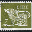 Stamp printed by Ireland — Stock Photo #4755540