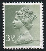 Stempel gedruckt von großbritannien — Stockfoto