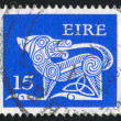 Stamp printed by Ireland — Stock Photo #4849107