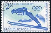 Czechoslovakia Stamp — Stock Photo