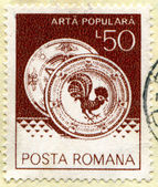 Poststamp — Stock Photo