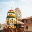 Holly chariot in the Indian temple — Stok fotoğraf