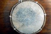 Leather drum — Stock Photo
