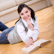Stock Photo: Reading book