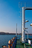Ferry at sea — Stock Photo