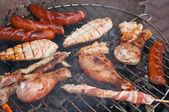 Griglia barbecue — Foto Stock
