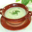 Stock Photo: Sorrel soup