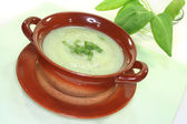Sorrel soup — Stock Photo