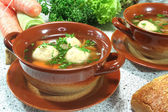 Marrow soup — Stock Photo