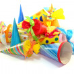 School cones — Stock Photo