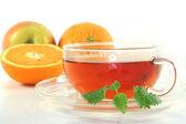 Orange tea — Stock Photo