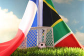 World Cup 2010 France vs South Africa — Stock Photo