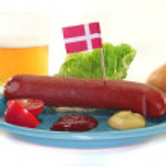 Danish sausage — Stock Photo #3303628